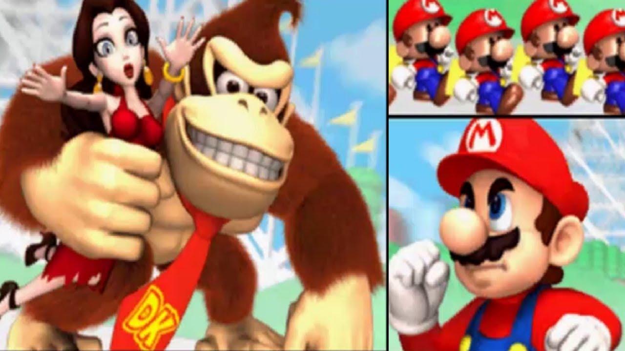 Resultado de imagen para Mario vs. Donkey Kong: Mini-Land Mayhem! / Mario vs Kong: Minis March Again / Mario vs. Donkey Kong 2