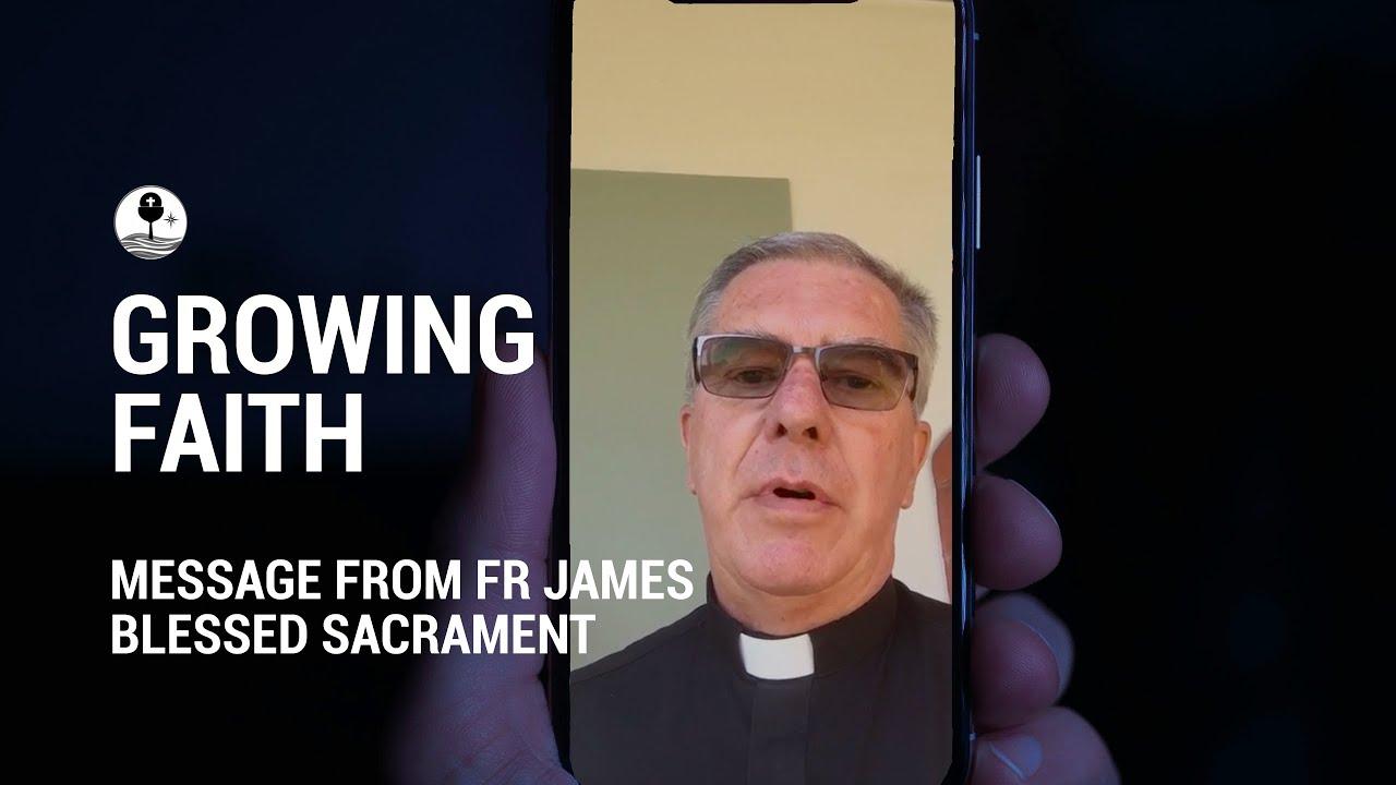 Fr James O.M.I Friday Reflection
