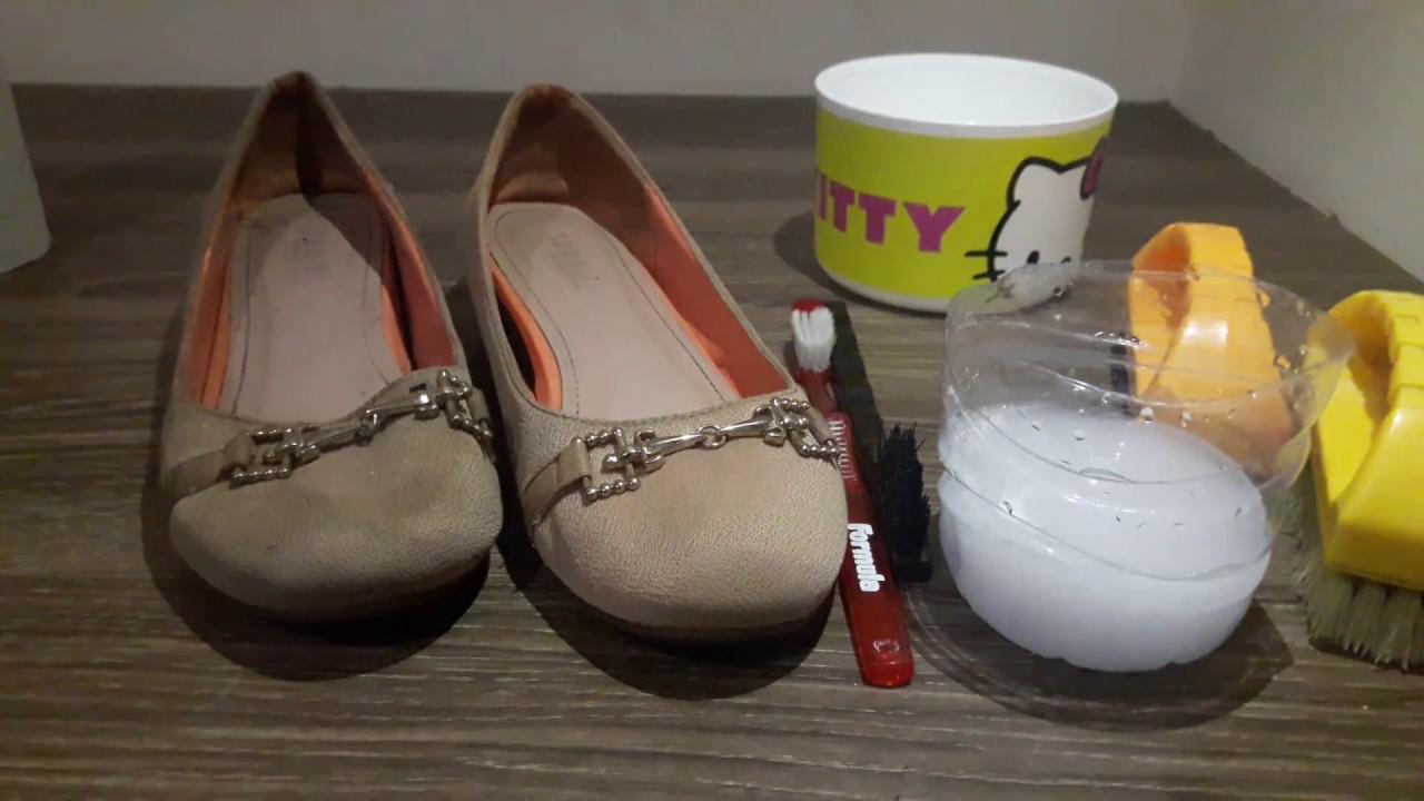 Cara Mencuci Sepatu Cewek Youtube