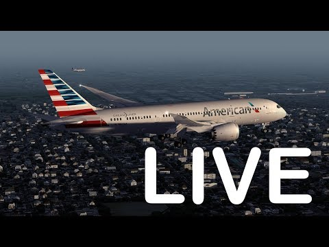 Virtual Los Angeles Airport (LAX) With Realtime Status