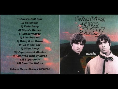 Oasis - Climbing The Sky (Cabaret Metro, Chicago, 15.10.1994)