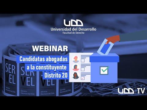 Conversatorio: Candidatas abogadas a la Constituyente distrito 20