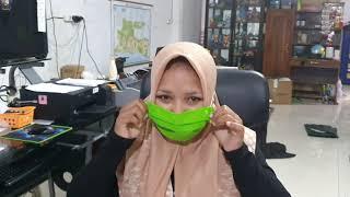 masker hijab kain masker jilbab kain masker hijab instan