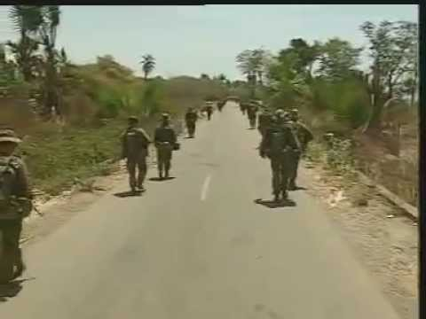 Perang pertama TNI dan Pasukan Australia di Motain Perbatasan RI dan Timor Leste