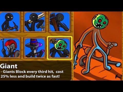 Stick War Legacy | Avatar Giant Zombie Head Unlocked - HACK Unlimited Gems Insane Mode Tournament