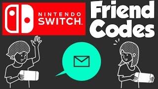 Nintendo Switch   How To Add Friends + Friend Code Exchange!