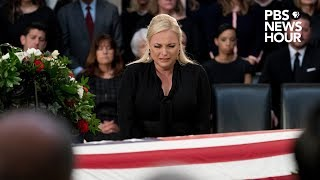 WATCH: Meghan McCain's complete eulogy for her father, John McCain