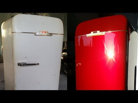Вопрос: Как покрасить холодильник?