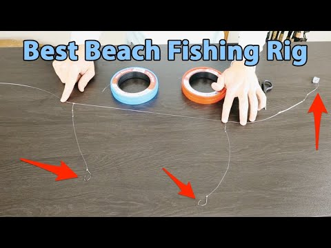 How To Tie The Ultimate Surf Fishing Rig (Modified Dropper Rig)