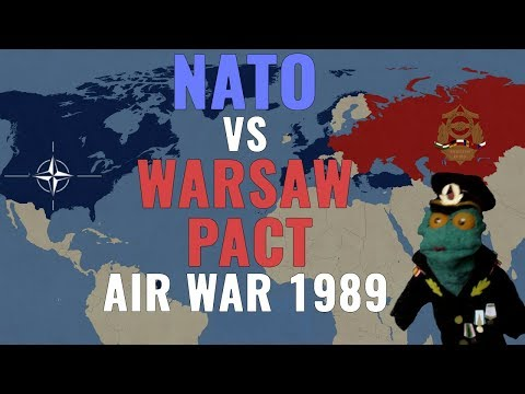 NATO vs Warsaw Pact: The Air War (1989)