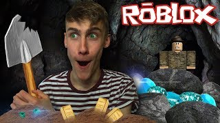 I HAVE TO DIG UP ALL THE DIAMONDS! (Roblox Drilling Simulator)
