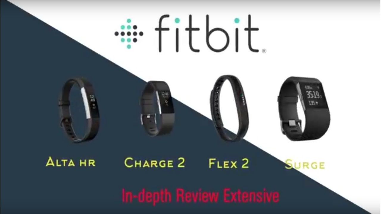 Fitbit In depth Review Extensive Alta HR vs Charge 2 vs ...