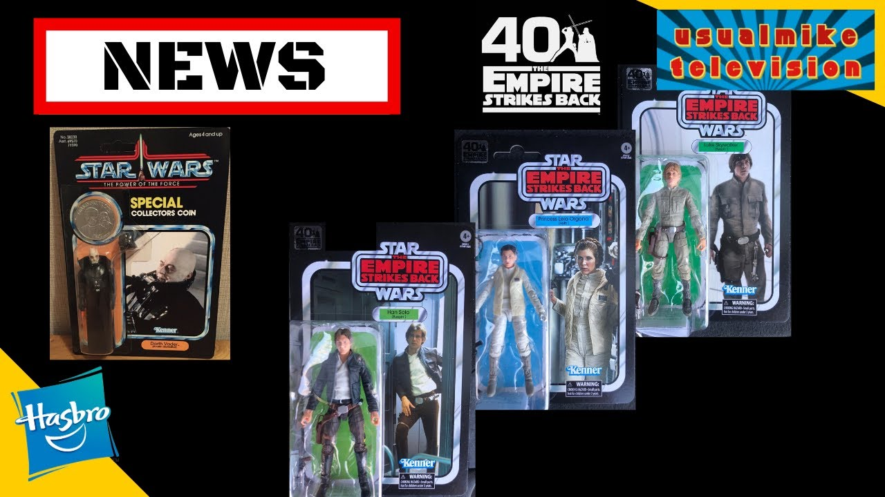 wave 2 action figures Star Wars Black Series Empire Strikes Back 40TH Ann