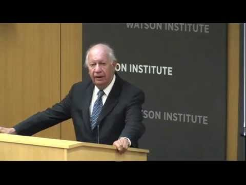 Former President of Chile, Ricardo Lagos' talk at Brown University at Conference on Climate Change