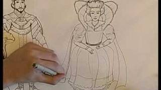 How to Draw a King & Queen : How to Draw a Queen