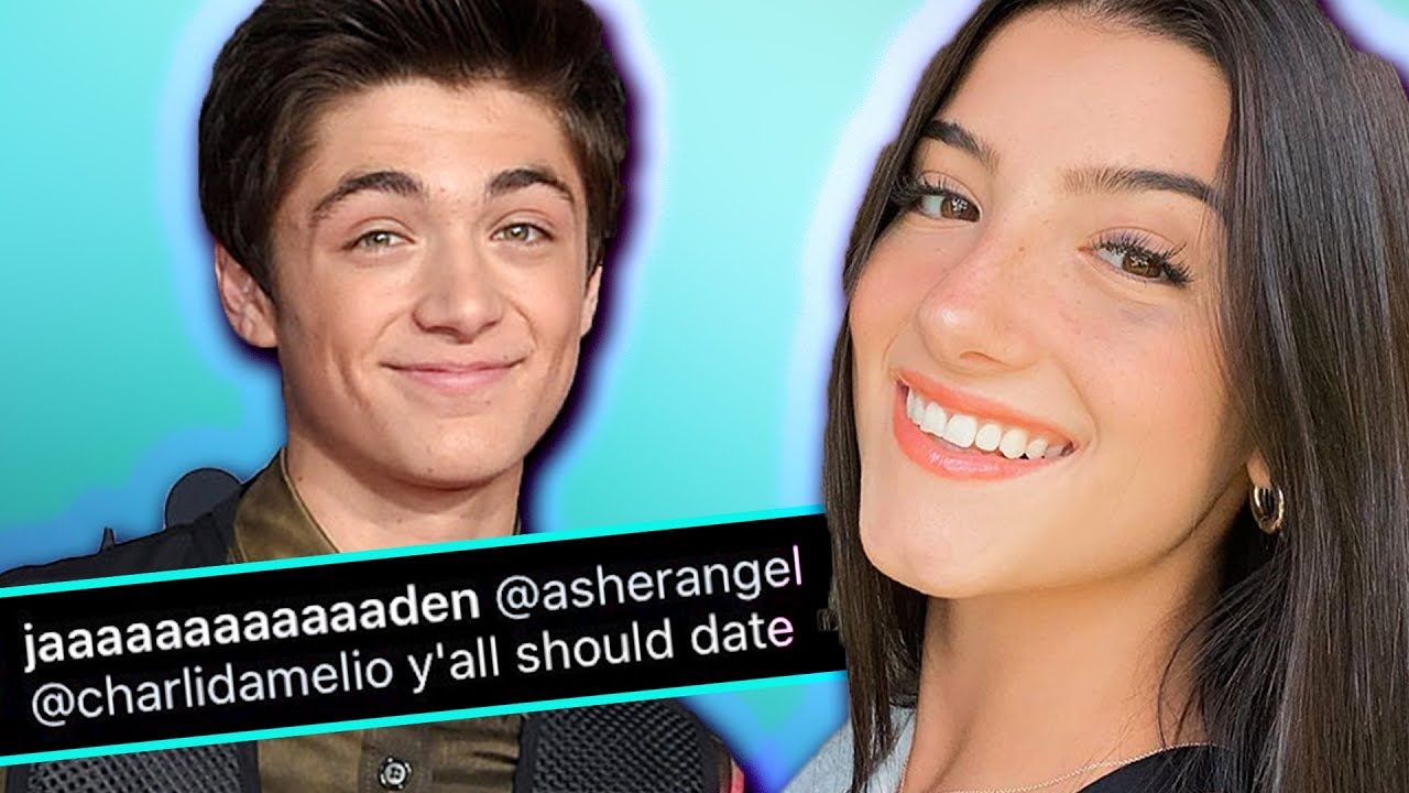 Asher Angel and Charli D'Amelio Should DATE?! | Hollywire