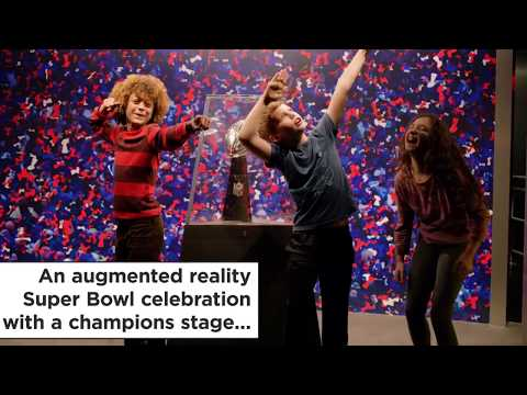 NFL Experience Times Square Immerses You In Football Through Tech