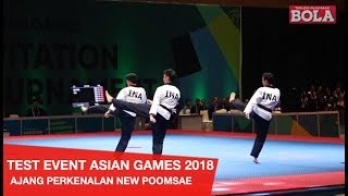 TEST EVENT TAEKWONDO - INDONESIA RAIH 6 EMAS