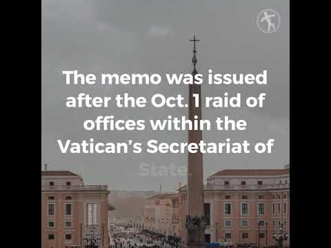 Vatican City security head resigns after confidential memo was leaked