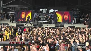 Anthrax  Rock on the Range Festival  2015 05 17