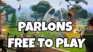 Are Free-to-Play really free? (Fortnite BR)