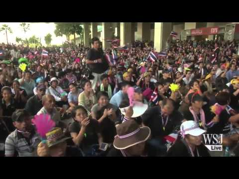 Thai Street Protests Continue Unabated