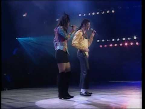 Michael Jackson & Siedah Garrett - I Just Can't Stop Loving You Live @ Bucharest