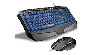 My Tecknet Gryphon Pro Gaming Keyboard And Mouse Set Review