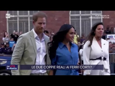 Harry e Meghan, un terremoto a Buckingham Palace - La vita in diretta 23/10/2019