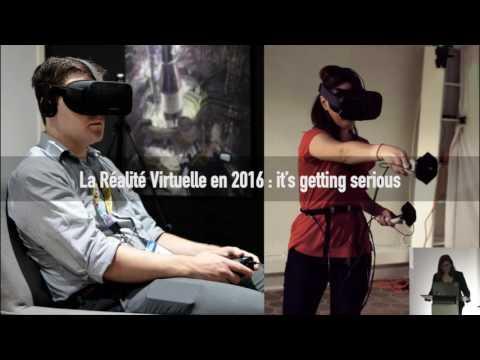Virtual Meetup #1 - 2016 : où en est la Réalité Virtuelle ?