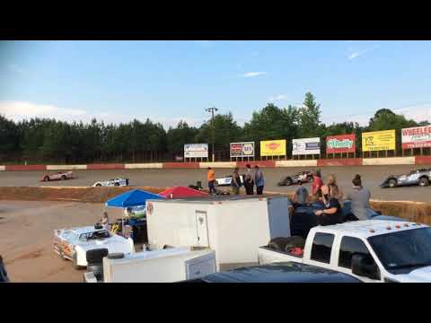 Late Model Sportsman Makeup Race at Senoia Raceway