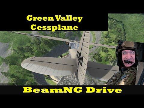 HIGH-FLYING FUN! Grand Valley Speedway/Cessplane - BeamNG Drive