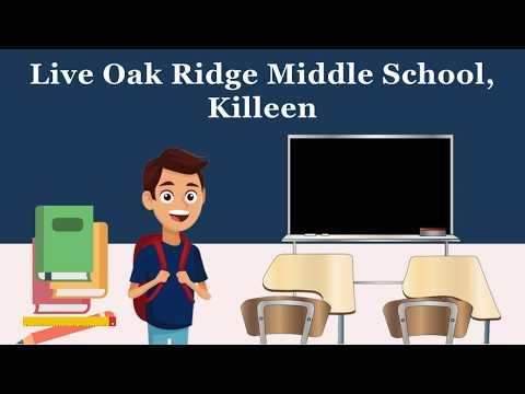 Live Oak Ridge Middle School, Killeen