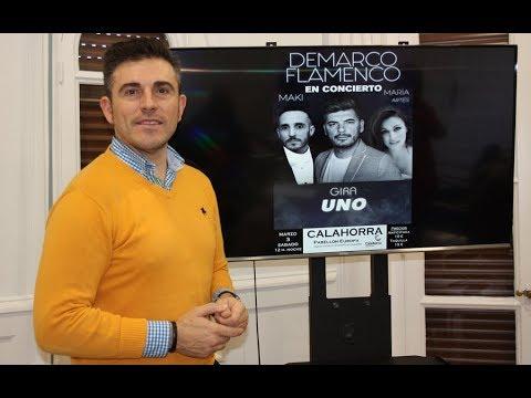 """Calahorra La Rioja Concierto de """"Demarco flamenco"""" en las fiestas de marzo 2018"""