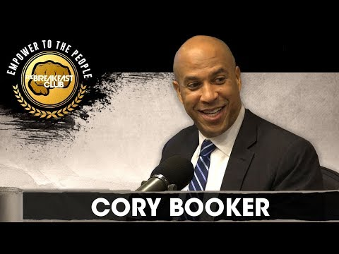 The Breakfast Club - Cory Booker Confirms He Has A Girlfriend, Talks 2020 Presidential Run!