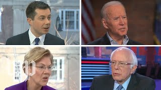 Democrats trade attacks ahead of New Hampshire primary Former vice president Joe Biden lobbed attacks at former South Bend, Ind., mayor Pete Buttigieg and Sen. Bernie Sanders (I-Vt.) on Feb. 9. They returned fire ...