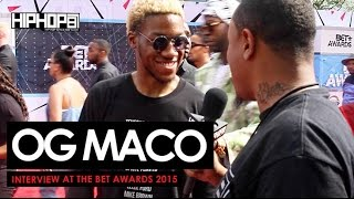 og maco talks the xxl freshman list upcoming album children of the rage at the bet awards