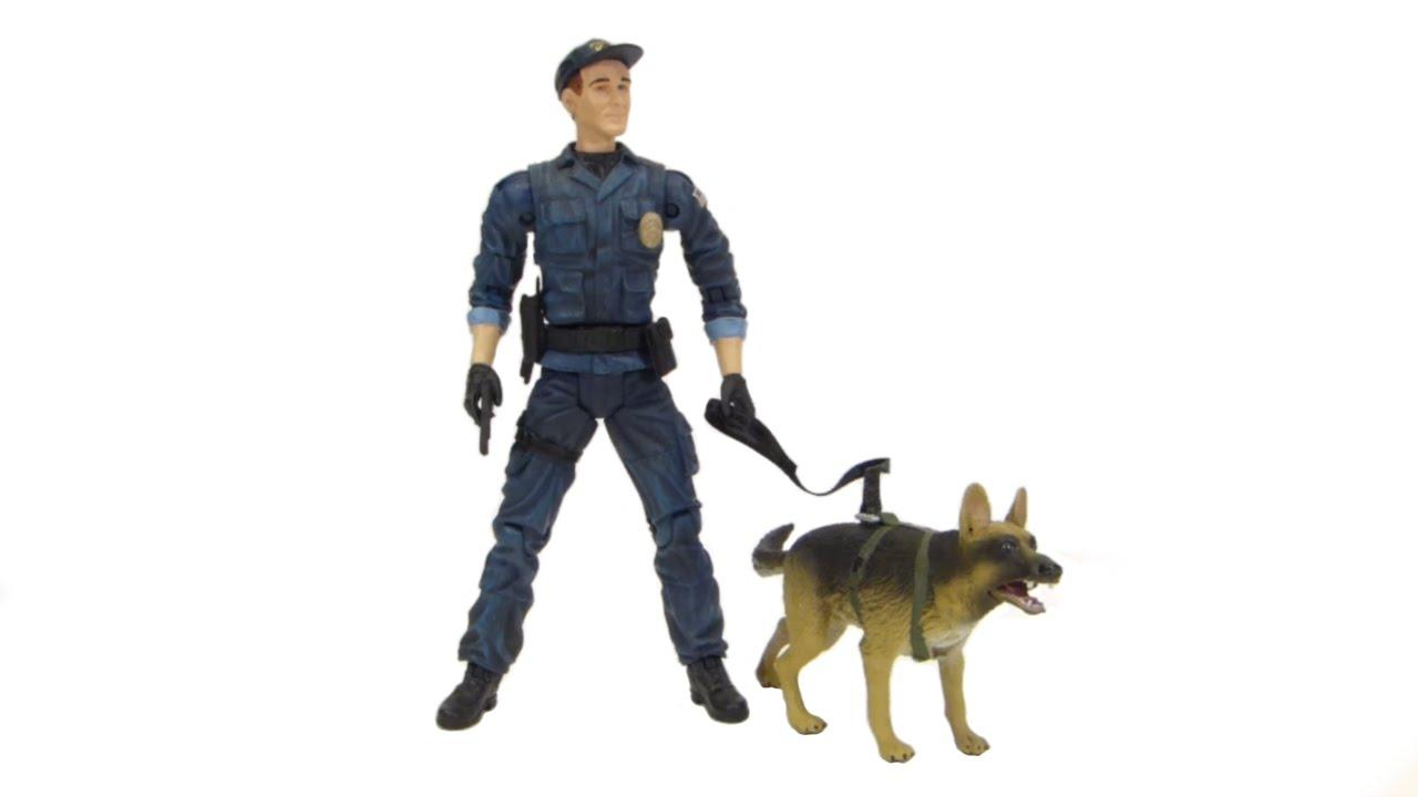 Police K Dog Toys