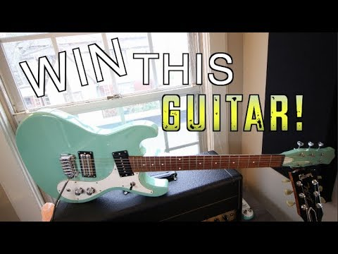 Guitar Giveaway Time! (open worldwide)