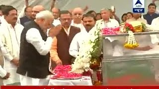 PM Modi pays homage to VHP leader Ashok Singhal