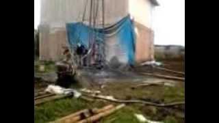 Бурение артезианской скважины(Работа производилась компанией Бурвод27 в районе села Ильинка в Хабаровске., 2014-03-24T00:50:20.000Z)