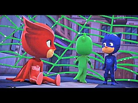 Герои в масках 34 35 серия Сверхзвуковая Алетт Кэтбой и выстрел липкой липучки Супергерои на русском