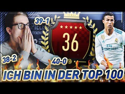 OMG ICH BIN IN DER TOP 100!! 🤑😱😍 Fifa 18 Fut Champions Weekend League 🔥 Realfifa