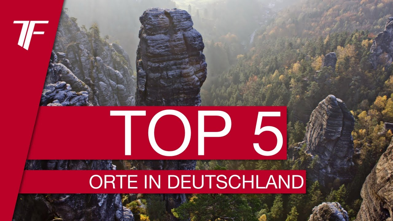 top 5 die sch nsten orte deutschlands youtube. Black Bedroom Furniture Sets. Home Design Ideas