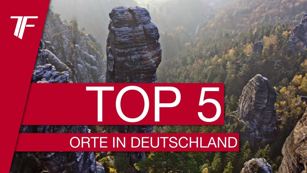 TOP 5 Die schnsten Orte Deutschlands  YouTube
