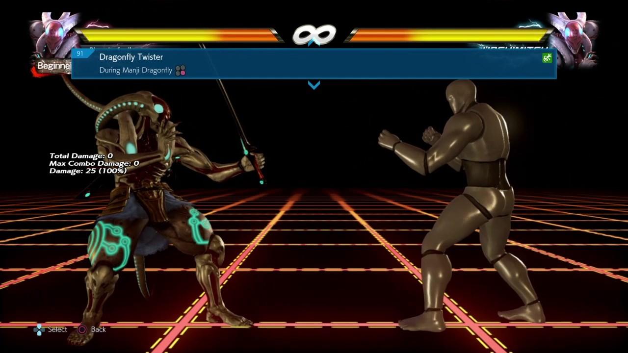 Yoshimitsu Move List Command List Tekken Youtube