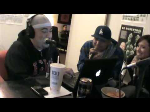 Concrete and Nikki Diaz on The DNA radio show