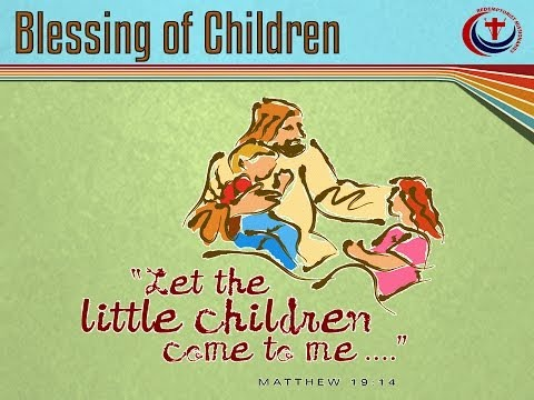 St Gerard's Novena Dundalk Day Six, Blessing of Children