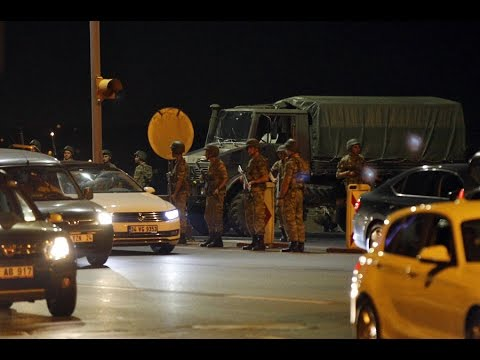 Turkey Army Group Stages Coup Attempt
