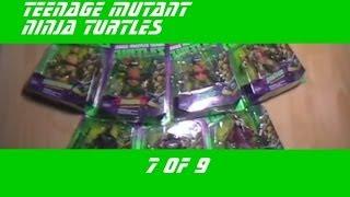 TMNT Черепашки ниндзя - подвижные фигурки (Action Figures) - Распаковка и демонстрация